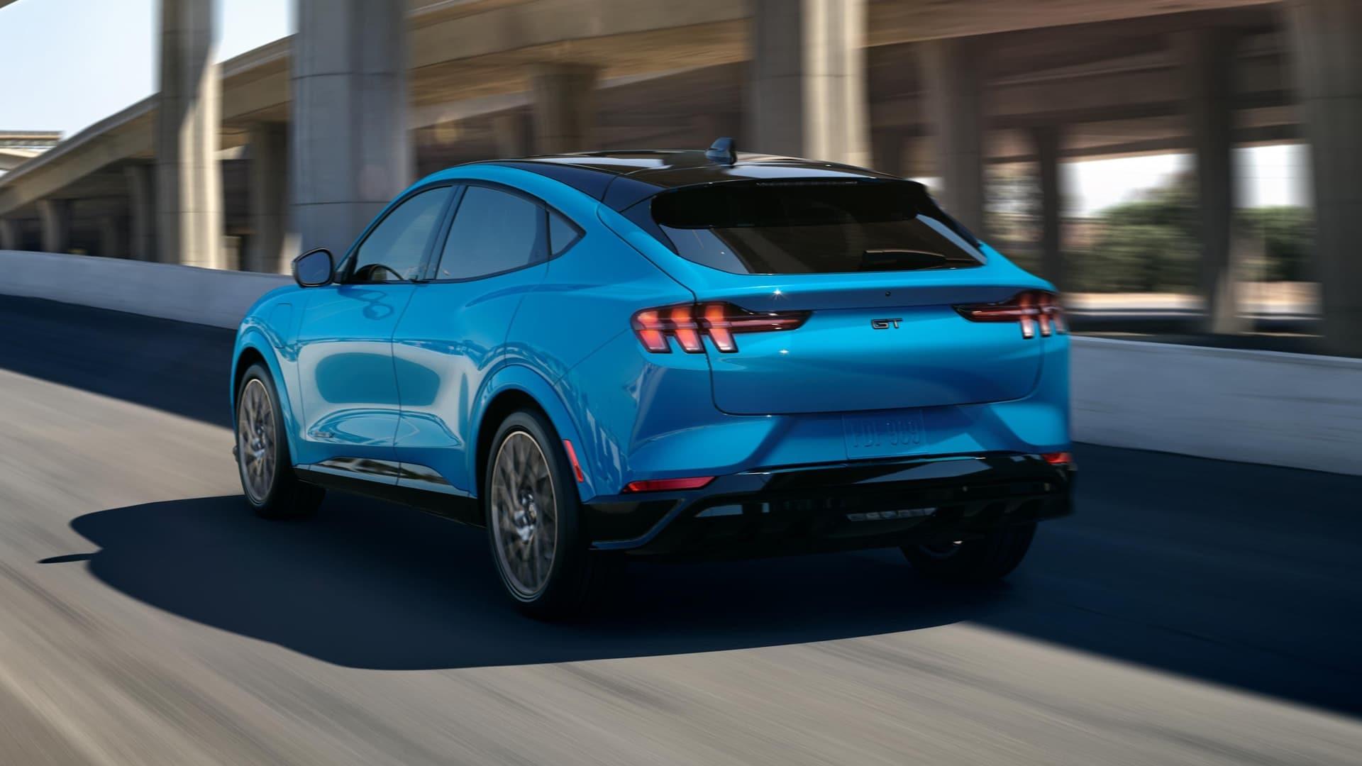 Imagen Ford Mustang e mach blog